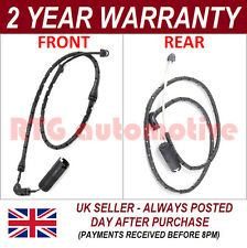 2X FOR BMW X3 E83 2004-2010 1.8 2.0 3.0 FRONT REAR DISC BRAKE PAD WARNING SENSOR