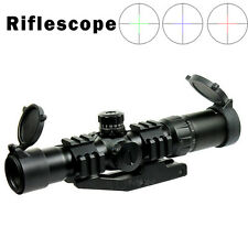 1.5-4X30 Tactical Rifle Scope w/ Tri-Illuminated mil-dot Reticle & PEPR Mount