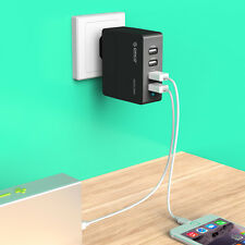ORICO 34W 4 Port USB Charger EU Plug(4 x 2.4A) for iPad iPhone Samsung Sony HTC
