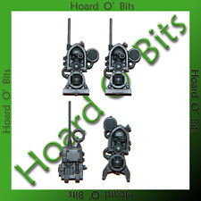 WARHAMMER 40K BIN BITS AEGIS DEFENCE LINE - 3x SPOTLIGHTS and COMM BOX