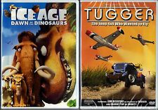 Ice Age: Dawn of the Dinosaurs (DVD, 2009) & Tugger;The Jeep 4x4 W.W.T.F. (DVD)