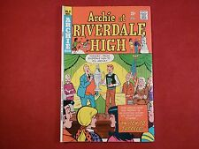 ARCHIE AT RIVERDALE HIGH # 21 VF / NM ~ DEC 1974