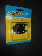 CIRCUIT BREAKER DC MARINE PUSH TO RESET SEACHOICE 13111 10AMP  NEW IN PACKAGE