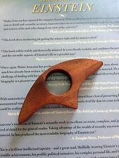 Thumb Page Bookholder - Mahogany wood Book Holder HANDMADE IN USA