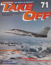 Take Off magazine Issue 71, Tupolev Tu-204 cutaway drawing