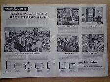 FRIGIDAIRE 1953 ad advertisement Built and Backed by General Motors