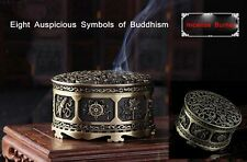 Incense Burner Buddhism Symbol 8 Auspicious Bronze Burner Free Incense Holder