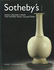 SOTHEBY'S LONDON CHINESE SONG CERAMICS Muwen Tang Collection Auction Catalog 03