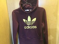 Women's ADIDAS Original Purple Hoodie Sz Sm Great Cond.