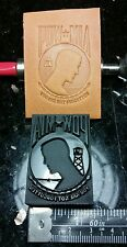 POW MIA leather embossing stamp