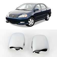 Chrome Side Mirror Cover Molding 2p 1Set For 2001-2006 Toyota Corolla