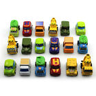 New Classic Boy&Girl Truck Vehicle Kids Child Toy Mini Small Pull Back Car 6pcs