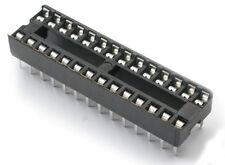 ZOCCOLO DIP 28 PIN 14+14 PASSO 2,54mm PER CIRCUITO INTEGRATO 5 Pezzi