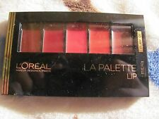 Loreal Colour Riche LA PALETTE LIP, RUBY 01, Lipstick Compact Sealed