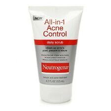 Neutrogena All-in-1 Acne Control Daily Scrub, 4.2 fl oz