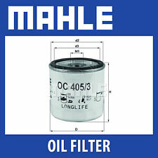 Mahle Oil Filter OC405/3 - Fits Vauxhall - Genuine Part