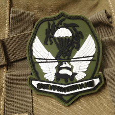 USA ARMY MORALE BADGE SPECLA FORCES BAIIAIION TACTICAL AIRSOFT PVC Patch