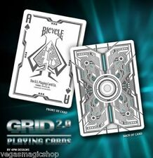 Grid 2.0 Original UV Glow Deck Bicycle Playing Cards Poker Size USPCC New Rare