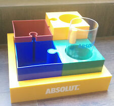 Absolut Vodka Korea Bar-Kit Bar-Set + Glas keine Flasche **RAR Limited Edition**