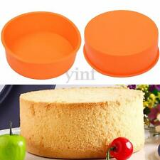 17cm Silicone Round Mold Cake Tin Bread Mould Baking Pan Tool Christmas