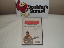 Rambo: First Blood Part 2 (Sega Master System) Complete