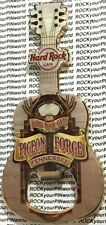 Hard Rock Cafe PIGEON FORGE 2014 Guitar MAGNET Bottle Opener V14 City w/Antlers!
