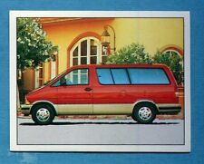 AUTO 100-400 Km - Panini -Figurina-Sticker n. 61 - FORD AEROSTAR 4.0 157cv -New
