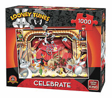 NEW! King Looney Tunes - Celebrate 1000 piece cartoon jigsaw puzzle