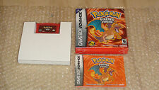 Pokemon Fire Red Version COMPLETE AUTHENTIC! VERY GOOD Nintendo Game Boy Advance