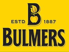 Bulmers cider Retro metal Aluminium Sign vintage , bar , pub , man cave...