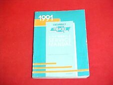 1991 CHEVROLET SUBURBAN BLAZER 3500 DUALLY TRUCK SERVICE SHOP REPAIR MANUAL 91