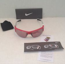 NIKE Golf  SQ Sports Sunglasses EV0561 686  Red/Blk/Grey Max Optics w/extra lens