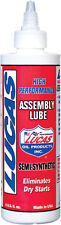 Lucas Oil 10153 Semi-Synthetic Engine Motor Assembly Lube 8 Oz