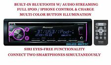 NEW PIONEER DEH-X6750BT +3Y WRNTY BLUETOOTH MP3 CD IPOD IPHONE CAR STEREO PLAYER