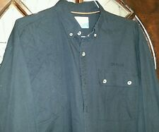 Mens Magellan Long slv Shooting Hunting Button Shirt Deer Embroidered SZ XL. Cb6