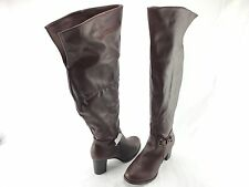 Bucco Delight Women's Over the Knee Synthetic Boots US Size 10M Item #706