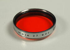 Walz 27 w.02 Orange E Farbfilter colored 8056-2 filter filtro filtre - (203201)