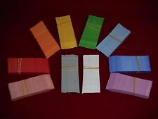 X1,600 large 5 inch long nursery plant labels YOU CHOOSE COLOR made in the USA