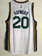 Adidas Swingman 2015-16 NBA Jersey Utah Jazz Gordon Hayward White sz XL