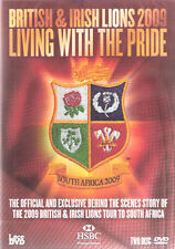 British & Irish Lions 2009 Rugby tour que viven con el orgullo (Dvd) Nuevo Y Sellado