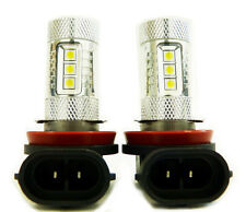 Ultra High Output Generation 10 LED Fog Light Bulbs (H11 80W CREE Pack of 2)