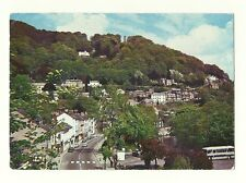 Matlock - a larger format, photographic postcard of the Heights of Abraham