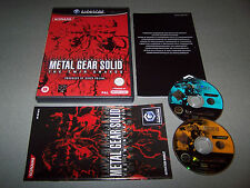 METAL GEAR SOLID THE TWIN SNAKES -  Nintendo Gamecube - UK PAL -  VG COND