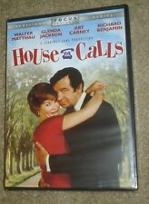 House Calls (DVD, 2005), NEW & SEALED, REGION 1, WIDESCREEN, MATTHAU & JACKSON