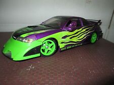 acura custom purple Import Racer 100% hotwheels 1/18 tuner w/ body kit NO BOX