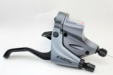 Shimano Claris ST-R240/R240 Road Flat Bar Shift/Brake 2x8 Spd Dual Control Lever