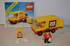 01231 LEGO Town vintage - Mail Truck 6651 + PLAN