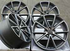 "18"" ALLOY WHEELS FITS AUDI A3 S3 A4 S4 A6 Q3 Q5 TT ROADSTER RS 4C GMF"