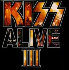paul stanley Gene Simmons KISS ALIVE III CD wow!