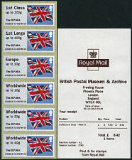 HYTECH BPMA OVERPRINT FLAG OCTOBER 2013 CODE AOGB13 COLLECTOR SET OF 6 POST & GO